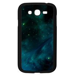 Green Space All Universe Cosmos Galaxy Samsung Galaxy Grand Duos I9082 Case (black) by Celenk