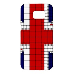 Union Jack Flag Uk Patriotic Samsung Galaxy S7 Edge Hardshell Case by Celenk