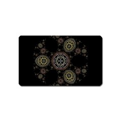 Background Pattern Symmetry Magnet (name Card) by Celenk