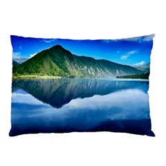 Mountain Water Landscape Nature Pillow Case (two Sides)