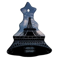 Eiffel Tower France Landmark Christmas Tree Ornament (two Sides) by Celenk