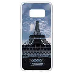 Eiffel Tower France Landmark Samsung Galaxy S8 White Seamless Case by Celenk