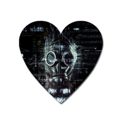 Gas Mask Contamination Contaminated Heart Magnet