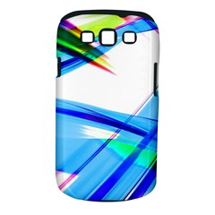 Lines Vibrations Wave Pattern Samsung Galaxy S Iii Classic Hardshell Case (pc+silicone) by Celenk