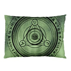 Rune Geometry Sacred Mystic Pillow Case
