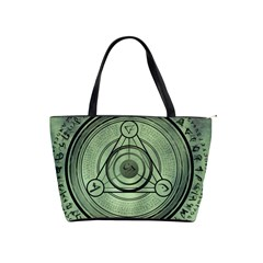 Rune Geometry Sacred Mystic Shoulder Handbags