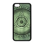Rune Geometry Sacred Mystic Apple iPhone 5C Seamless Case (Black) Front