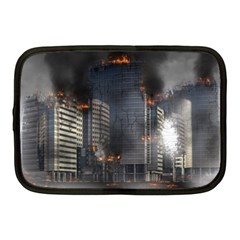 Destruction Apocalypse War Disaster Netbook Case (medium)  by Celenk