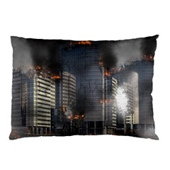 Destruction Apocalypse War Disaster Pillow Case (two Sides)