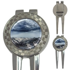 Mountain Landscape Sky Snow 3 In 1 Golf Divots
