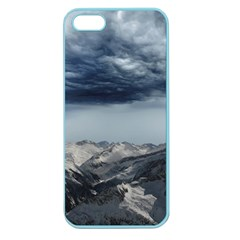Mountain Landscape Sky Snow Apple Seamless Iphone 5 Case (color) by Celenk