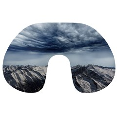Mountain Landscape Sky Snow Travel Neck Pillows by Celenk