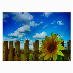 Sunflower Summer Sunny Nature Large Glasses Cloth