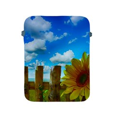Sunflower Summer Sunny Nature Apple Ipad 2/3/4 Protective Soft Cases by Celenk