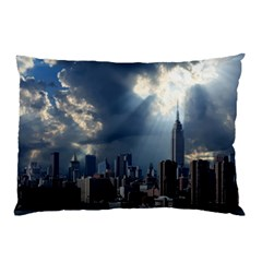 New York America New York Skyline Pillow Case (two Sides) by Celenk