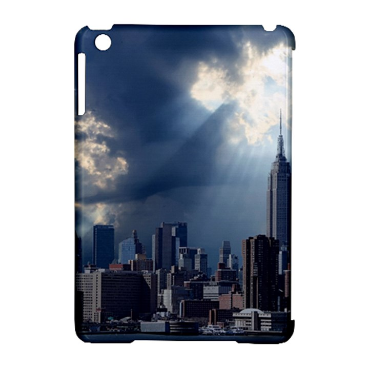 New York America New York Skyline Apple iPad Mini Hardshell Case (Compatible with Smart Cover)
