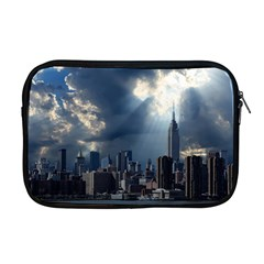 New York America New York Skyline Apple Macbook Pro 17  Zipper Case