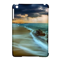 Beach Shore Sand Coast Nature Sea Apple Ipad Mini Hardshell Case (compatible With Smart Cover) by Celenk