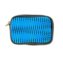 Sharp Blue And Black Wave Pattern Coin Purse