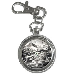 Mountains Winter Landscape Nature Key Chain Watches by Celenk