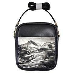 Mountains Winter Landscape Nature Girls Sling Bags