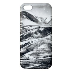 Mountains Winter Landscape Nature Iphone 5s/ Se Premium Hardshell Case by Celenk