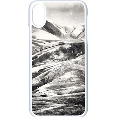 Mountains Winter Landscape Nature Apple Iphone X Seamless Case (white)