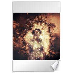 Science Fiction Teleportation Canvas 24  X 36  by Celenk