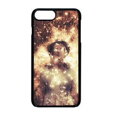 Science Fiction Teleportation Apple Iphone 8 Plus Seamless Case (black) by Celenk