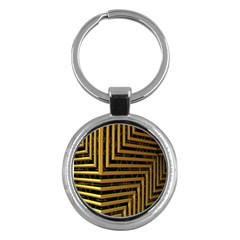 Modern Art Sculpture Architecture Key Chains (round)