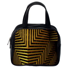Modern Art Sculpture Architecture Classic Handbags (one Side) by Celenk