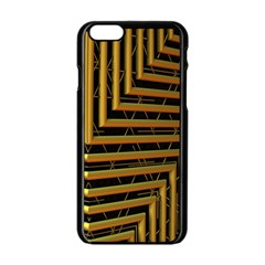 Modern Art Sculpture Architecture Apple Iphone 6/6s Black Enamel Case