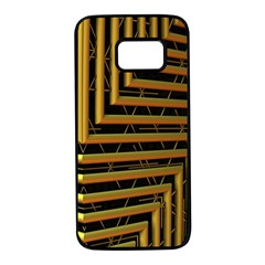 Modern Art Sculpture Architecture Samsung Galaxy S7 Black Seamless Case