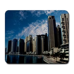 Skyscraper City Architecture Urban Large Mousepads by Celenk