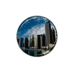 Skyscraper City Architecture Urban Hat Clip Ball Marker (4 Pack) by Celenk
