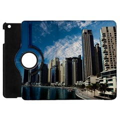 Skyscraper City Architecture Urban Apple Ipad Mini Flip 360 Case by Celenk