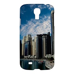 Skyscraper City Architecture Urban Samsung Galaxy S4 I9500/i9505 Hardshell Case by Celenk