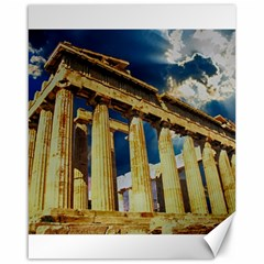 Athens Greece Ancient Architecture Canvas 16  X 20   by Celenk