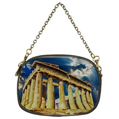 Athens Greece Ancient Architecture Chain Purses (one Side)
