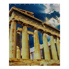 Athens Greece Ancient Architecture Shower Curtain 60  X 72  (medium)  by Celenk