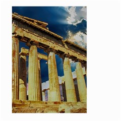 Athens Greece Ancient Architecture Large Garden Flag (two Sides) by Celenk