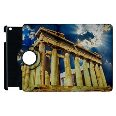 Athens Greece Ancient Architecture Apple Ipad 3/4 Flip 360 Case by Celenk