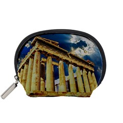 Athens Greece Ancient Architecture Accessory Pouches (small)