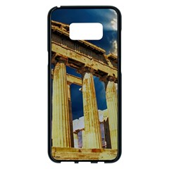 Athens Greece Ancient Architecture Samsung Galaxy S8 Plus Black Seamless Case