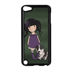 Dolly Girl And Dog Apple Ipod Touch 5 Case (black)