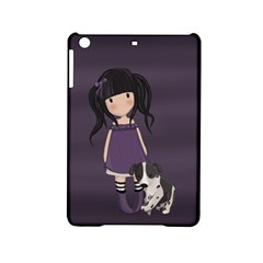 Dolly Girl And Dog Ipad Mini 2 Hardshell Cases by Valentinaart