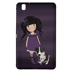 Dolly Girl And Dog Samsung Galaxy Tab Pro 8 4 Hardshell Case