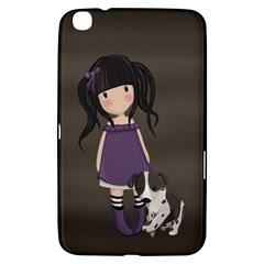 Dolly Girl And Dog Samsung Galaxy Tab 3 (8 ) T3100 Hardshell Case