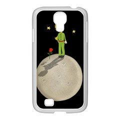 The Little Prince Samsung Galaxy S4 I9500/ I9505 Case (white) by Valentinaart