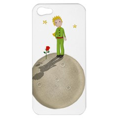 The Little Prince Apple Iphone 5 Hardshell Case by Valentinaart